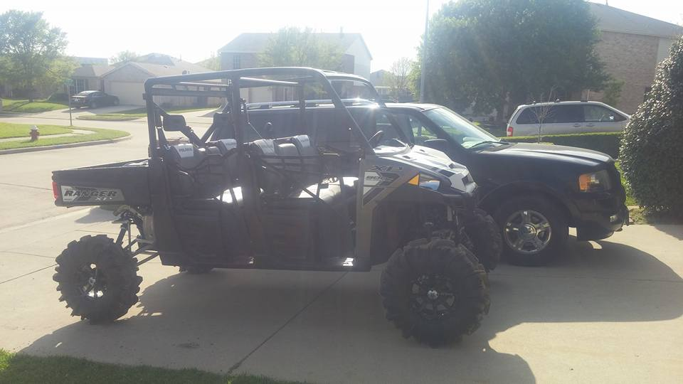 2015 Polaris Ranger >> Super atv 6 inch lift on crew 900