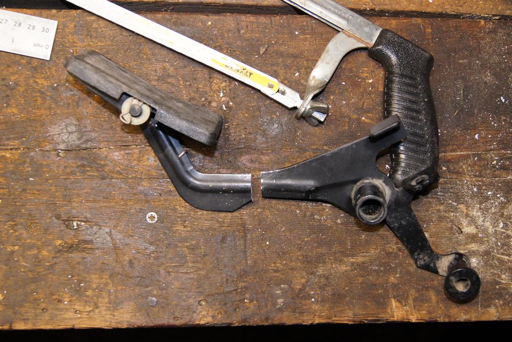 Modifying Ranger 800 Gas Pedal To Reduce Leg Strain