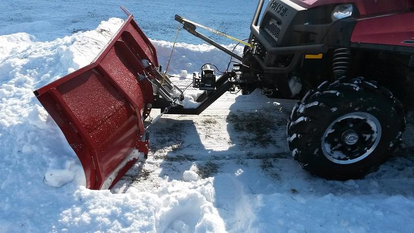 Homemade Snow Plow >> my cheap homemade plow