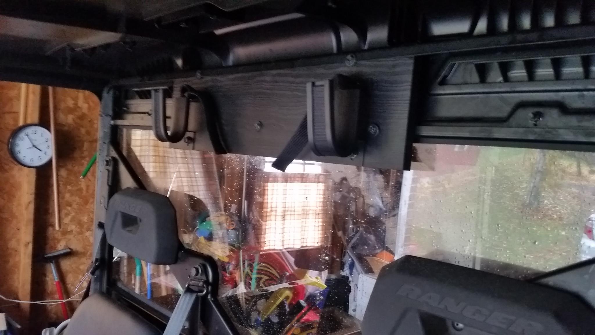 Rear Window Gun Rack