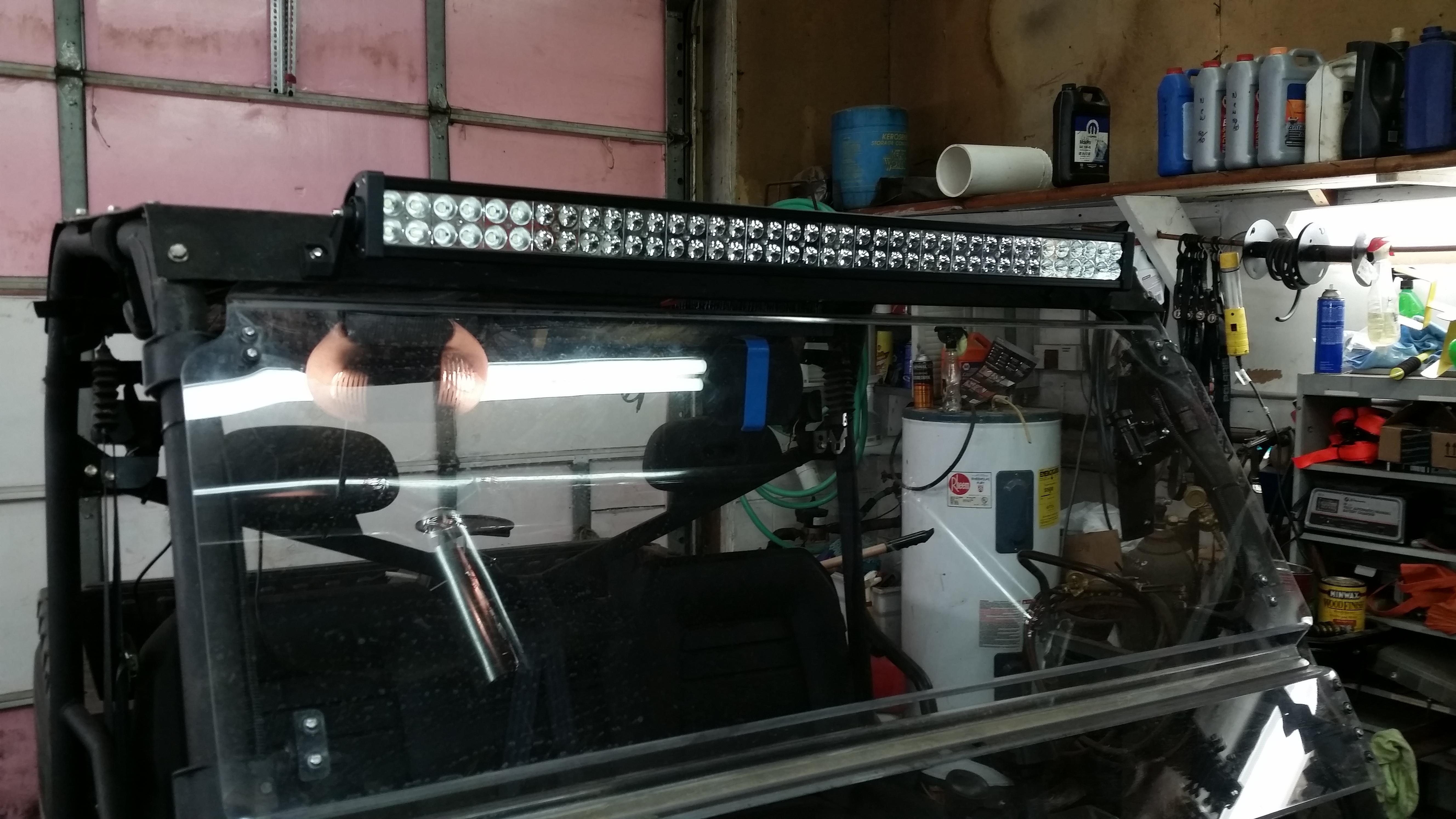 40 led light bar for plowing snow aloadofball Choice Image