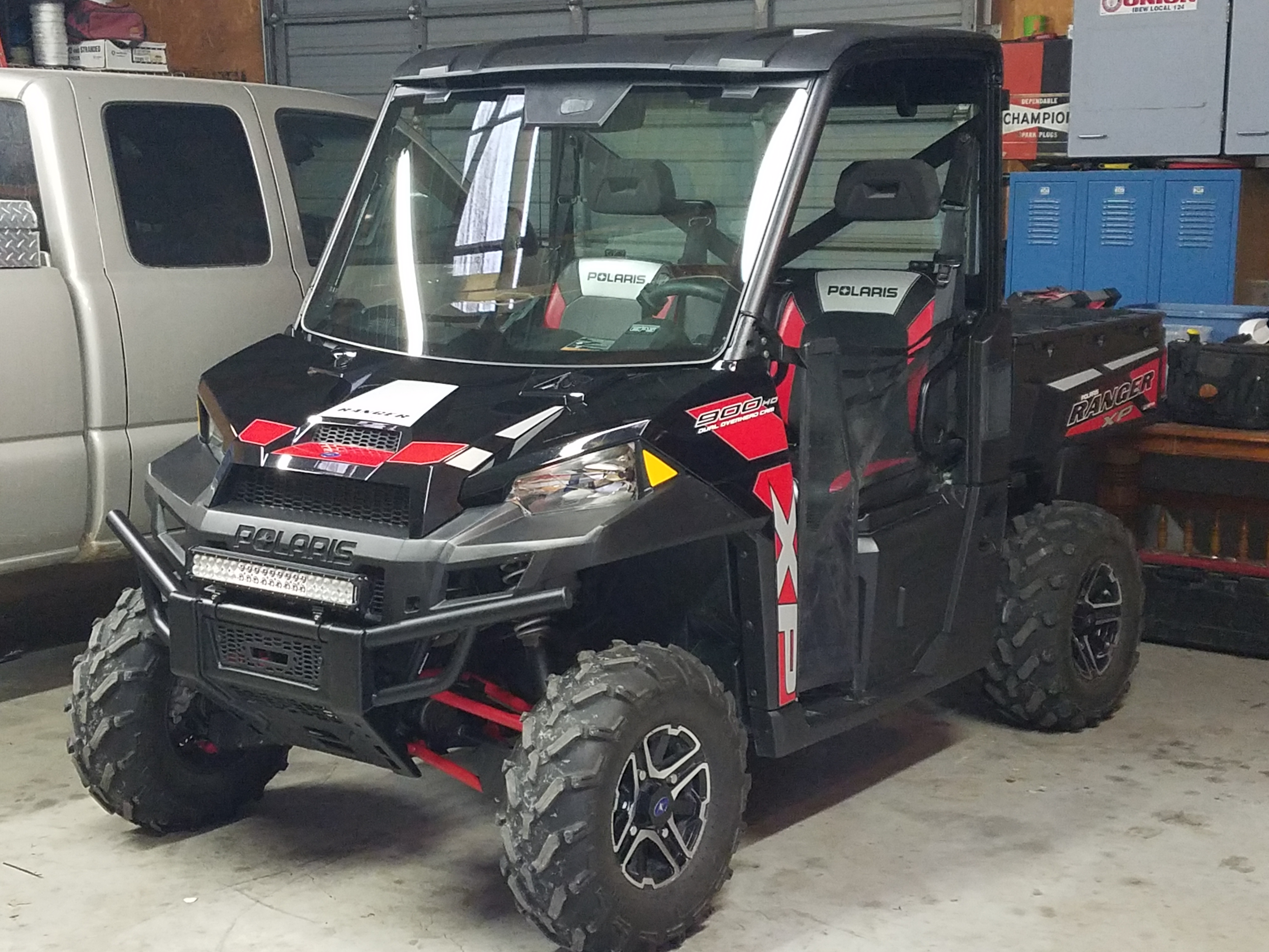 Led Light Bar Or Cubes Mounting Location Prc Polaris
