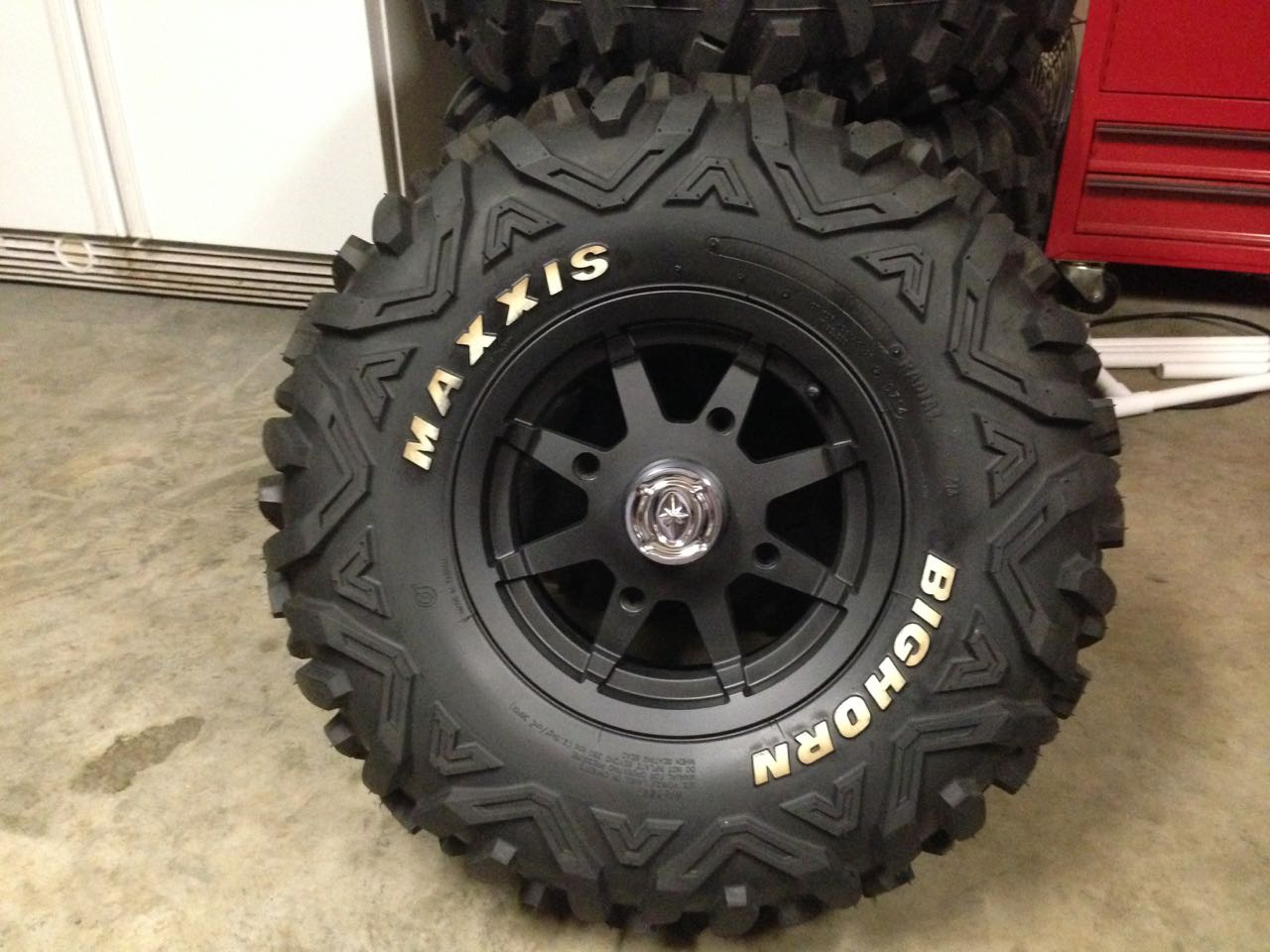 Honda Factory Rims >> 29.5x10x12 Swamplites on Polaris RZR Wheels