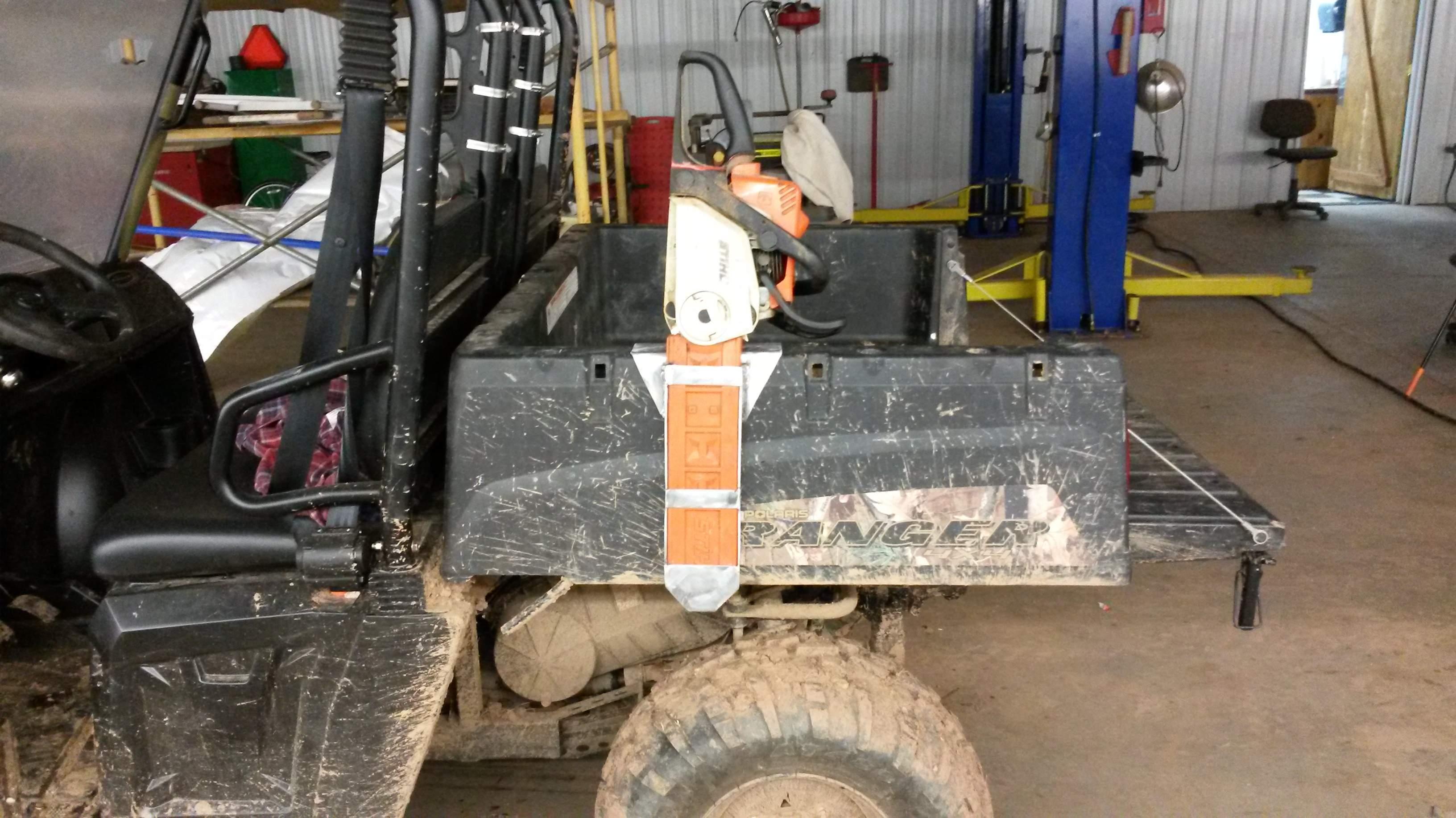 570 Ranger Home Made Cab Under Seat Storage Ect