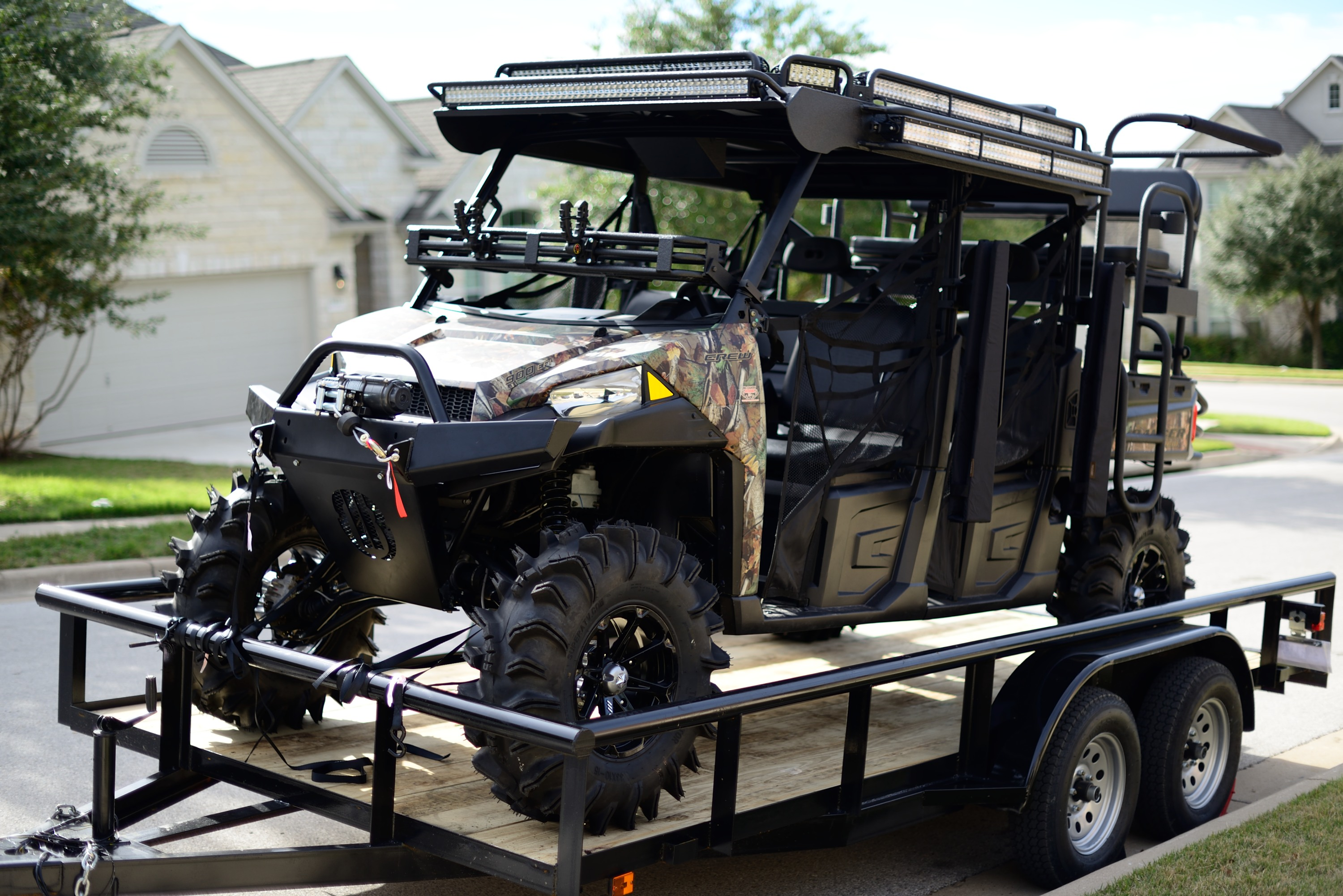 Highly Custom 2014 Polaris Ranger Crew For Sale 49 999