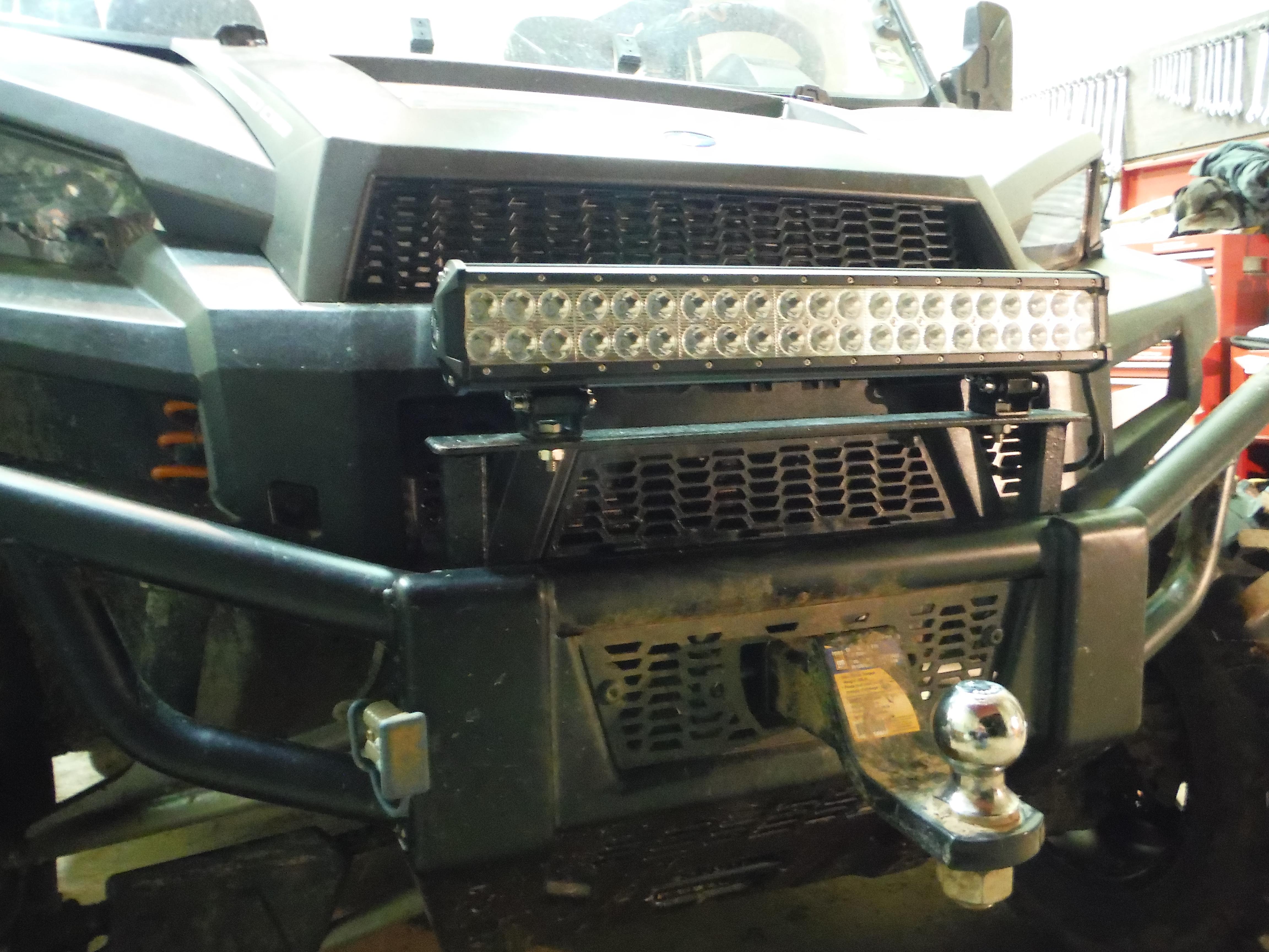 Lightbar On Front Bumper