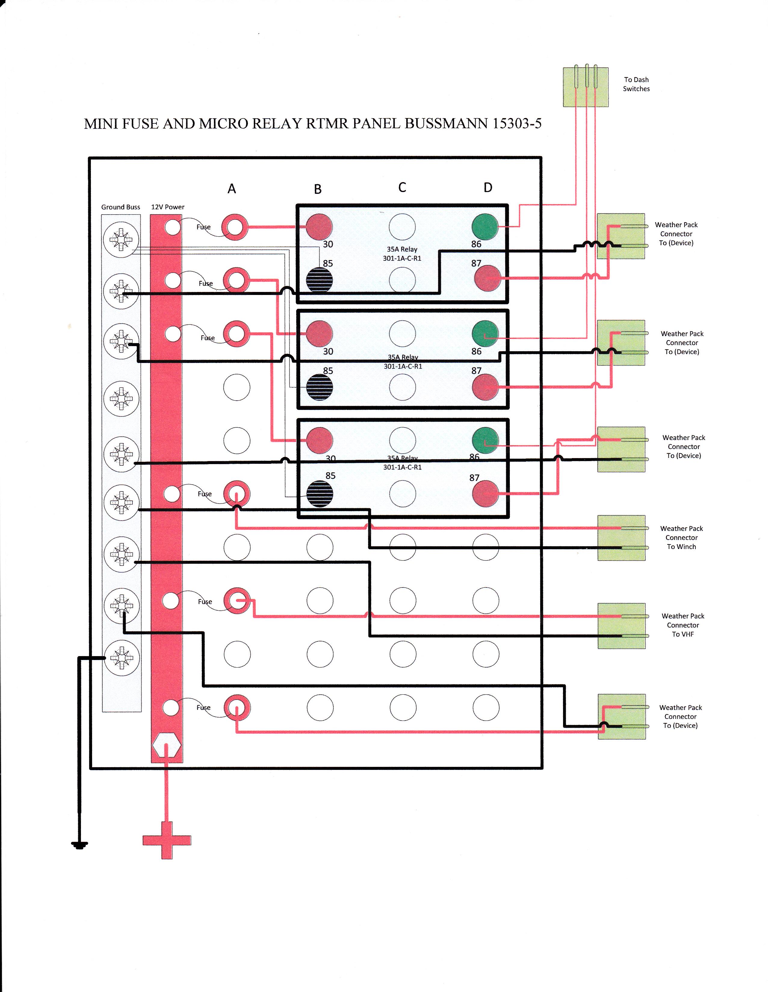 Bussmann Relay Wiring Box Diagram Databasewrg 4272 Automotive Fuse Custom