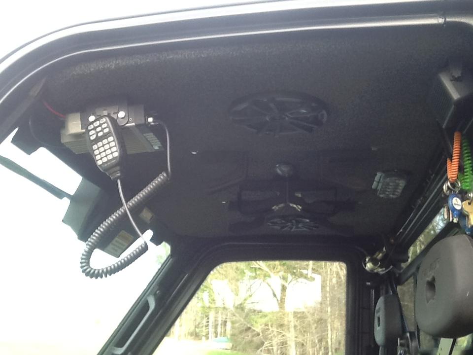Building A Speaker Box Under The Polaris Sport Roof