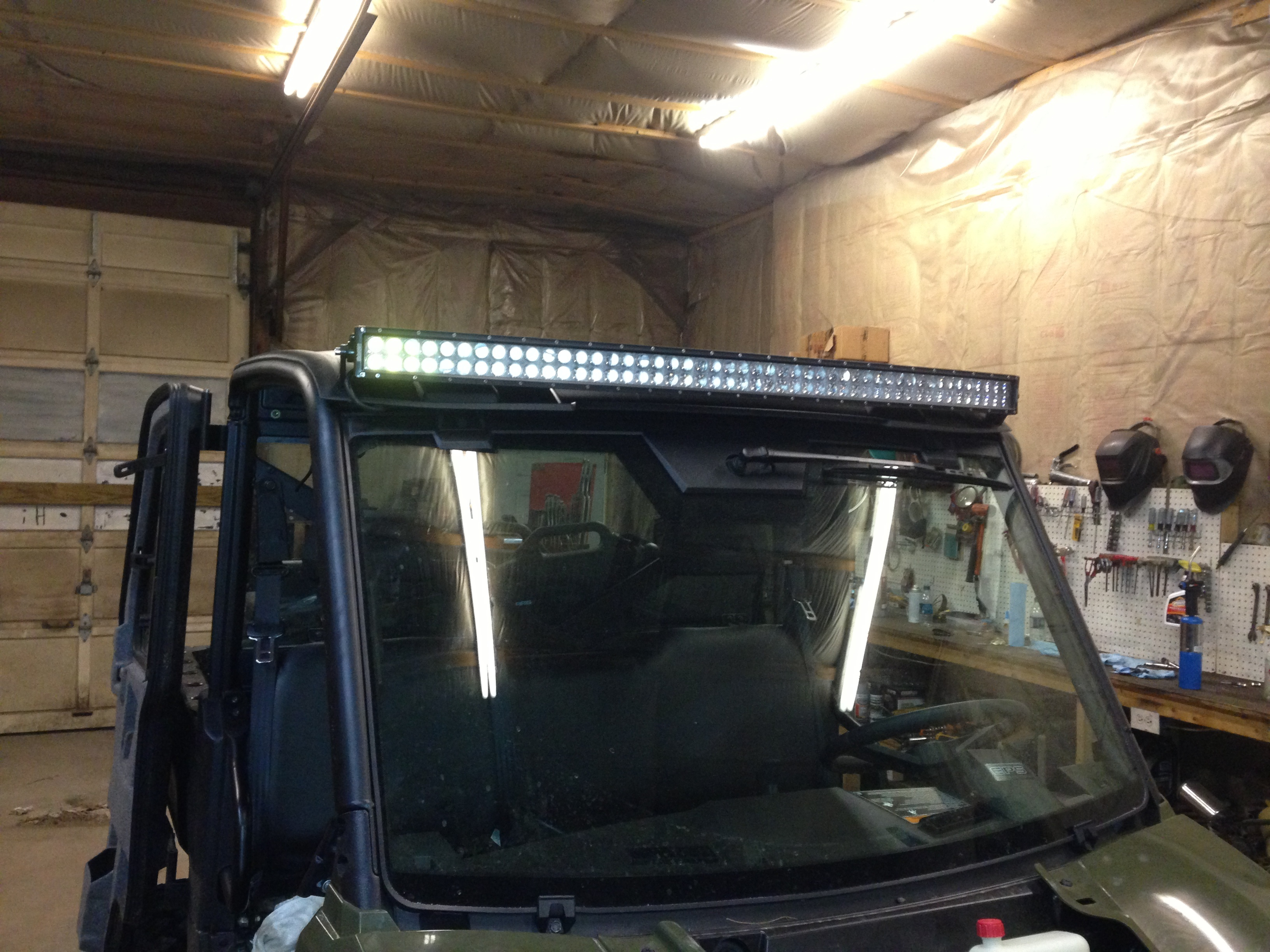 Mounting 50 Quot Curved Light Bar