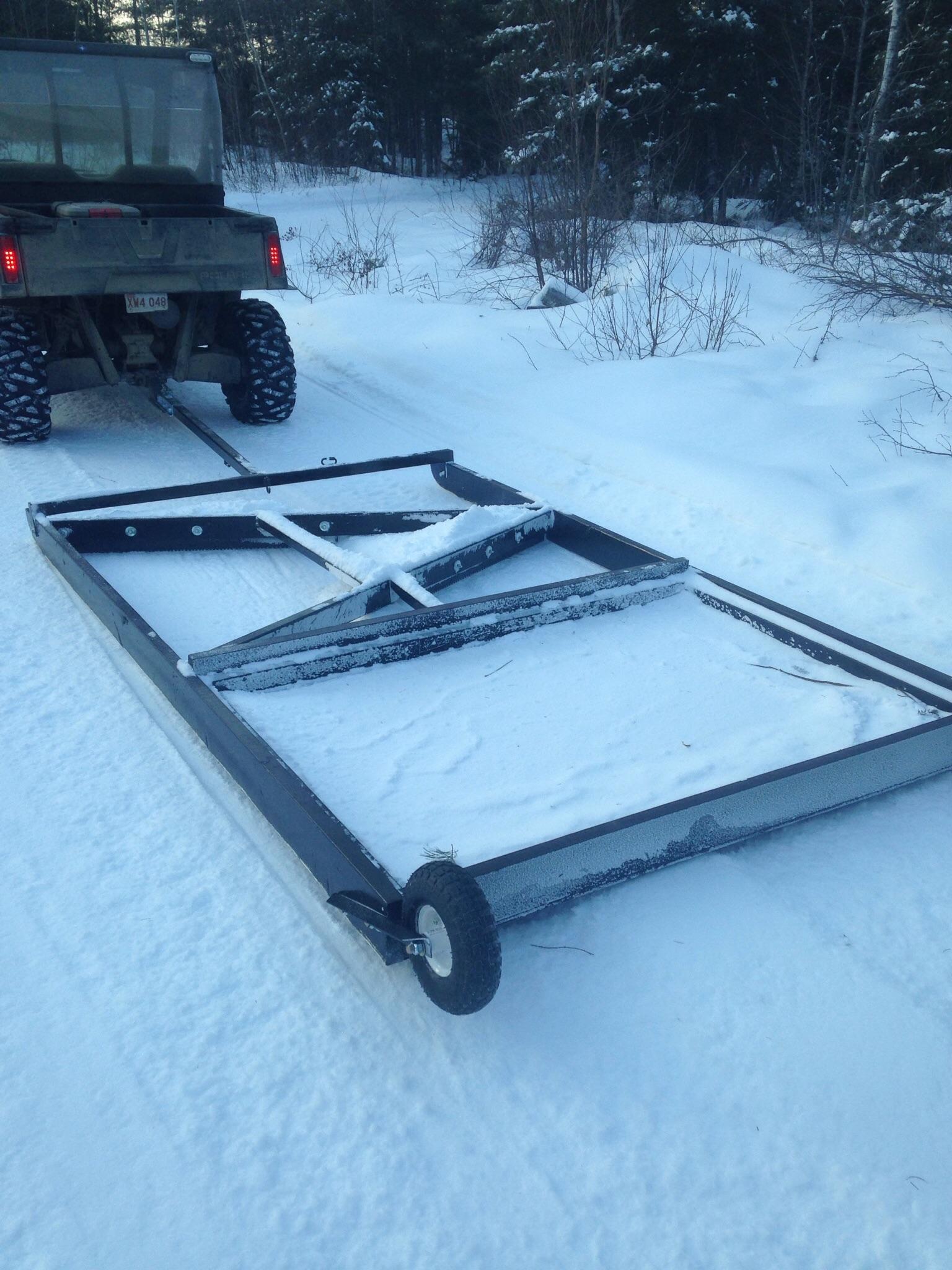 Snow Trail Drag