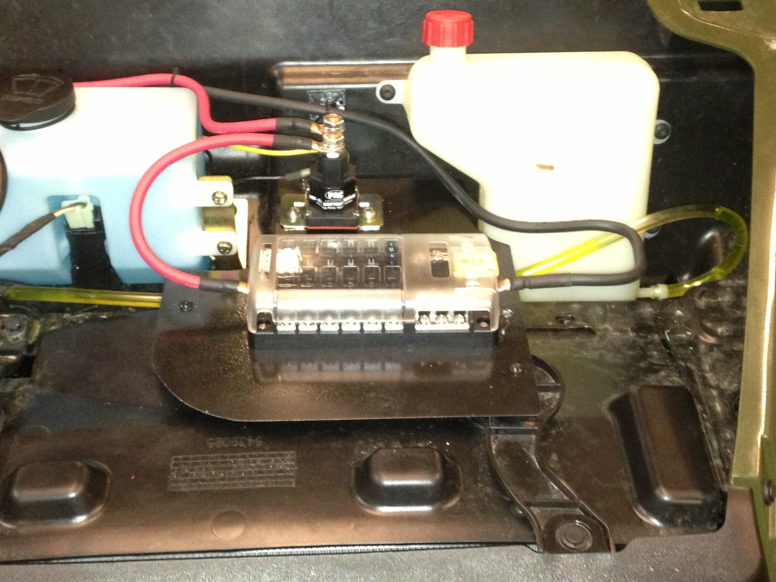 Auxiliary Fuse Box With Relay Wiring Library Block And Rh Prcforum Com Polaris Ranger Accessory