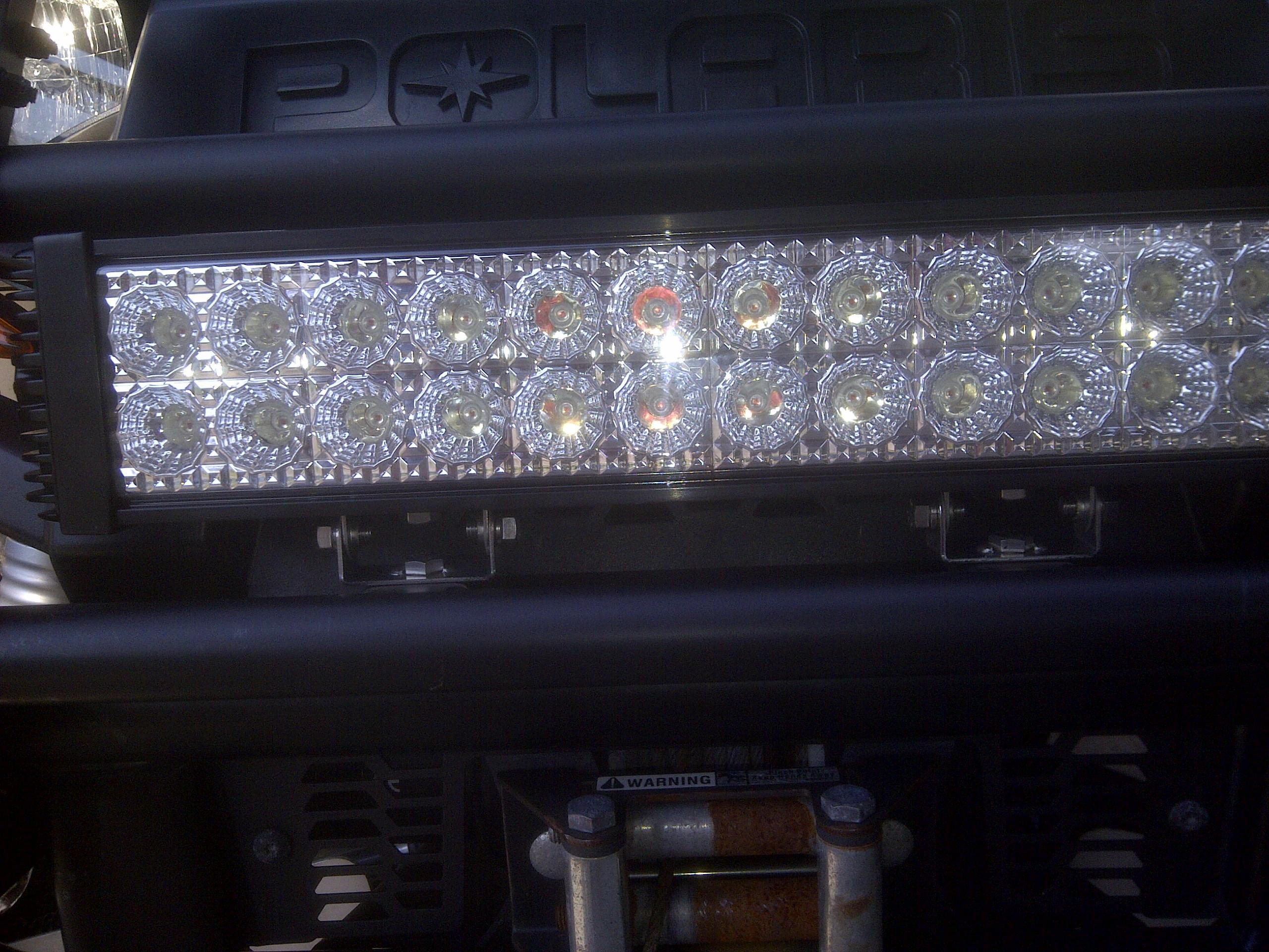 Midsize Light Bar Install