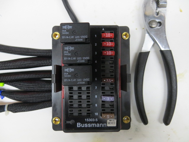 fuse box relays wiring diagram Types of Fuse Boxes automotive fuse block with relay wiring diagram