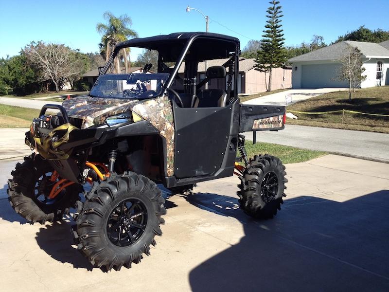 Backwoods Armor 8 Inch 34 Terms Ddp Etc Writeup With Photos Prc Polaris Ranger Club