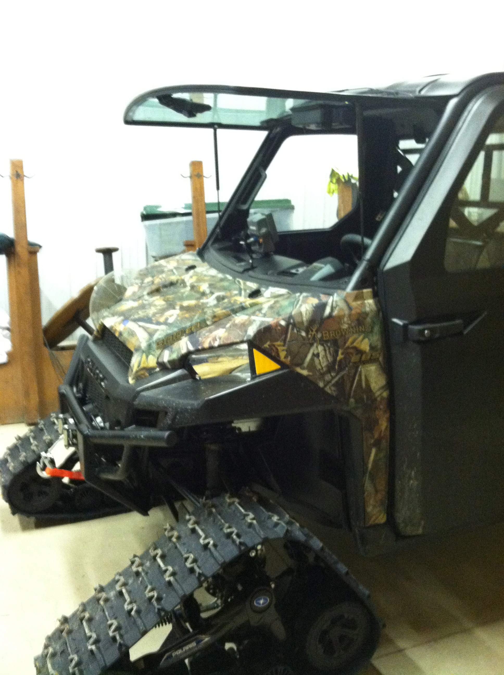 2014 Polaris Ranger And Trailer