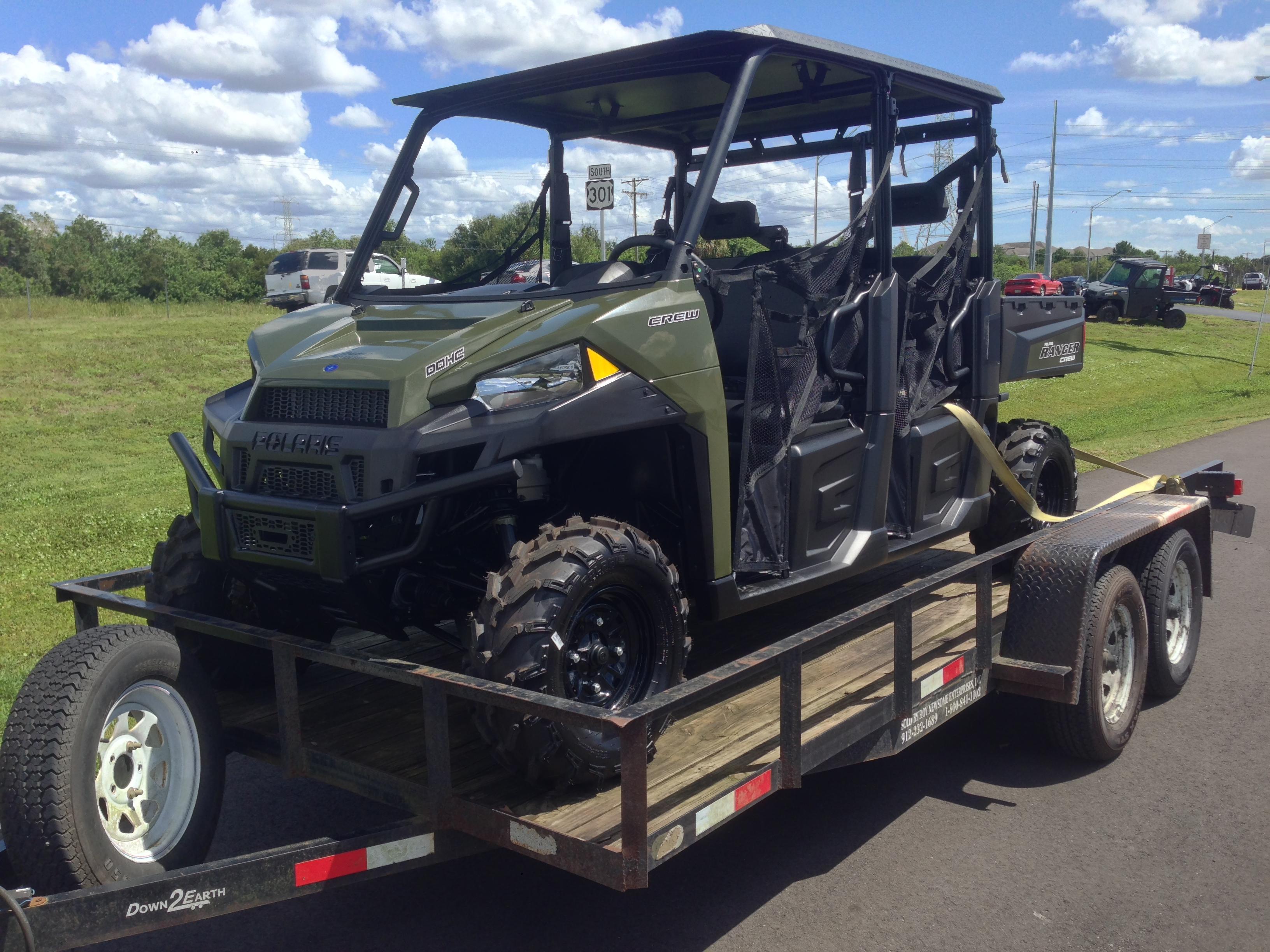 2015 Ranger Crew 570 Full Size Build Project