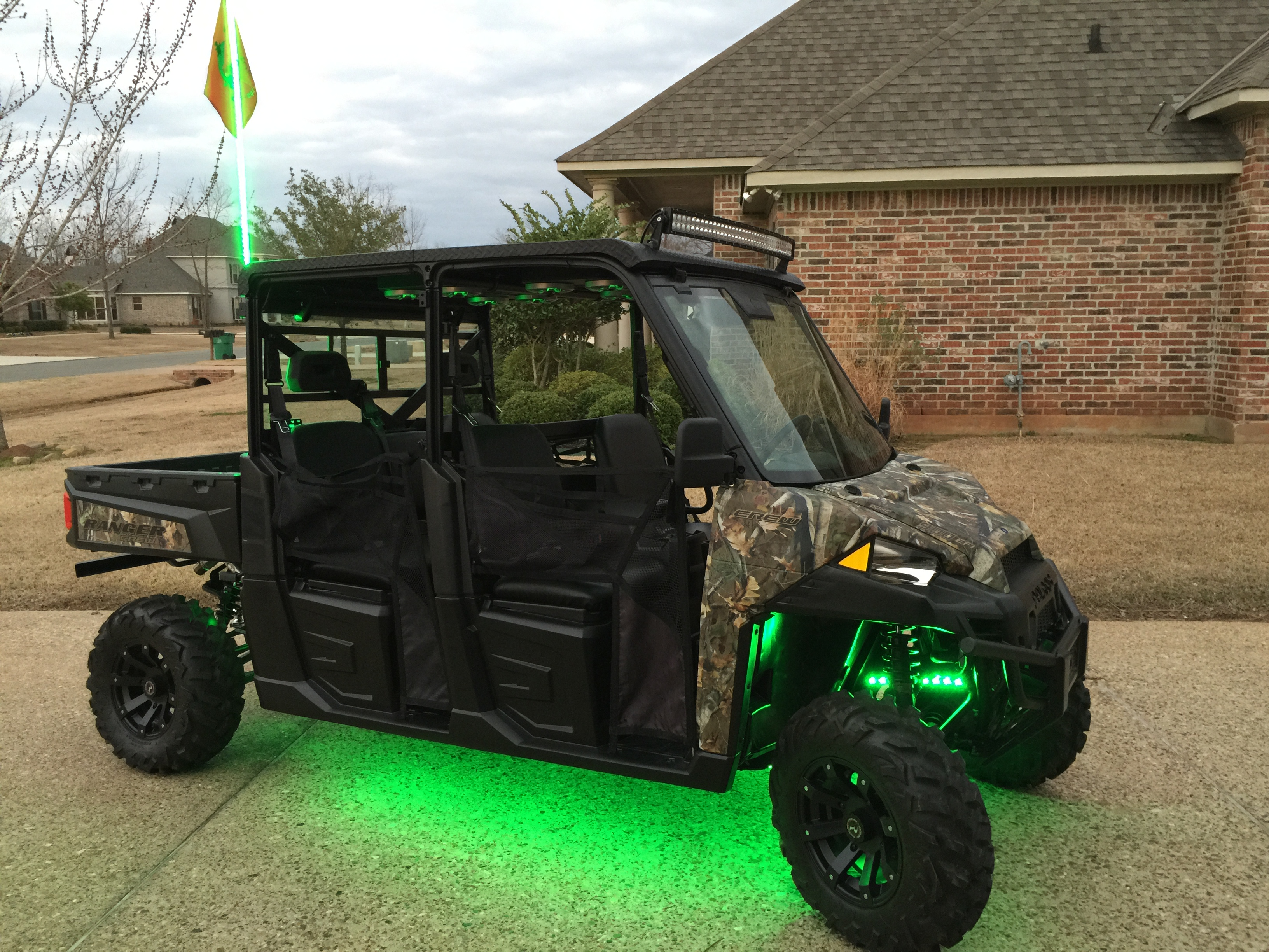 Polaris Ranger Crew >> Tricked out............ a little