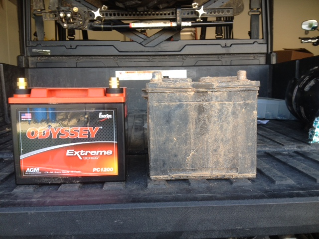 Pc1200 Odyssey Battery Fitment
