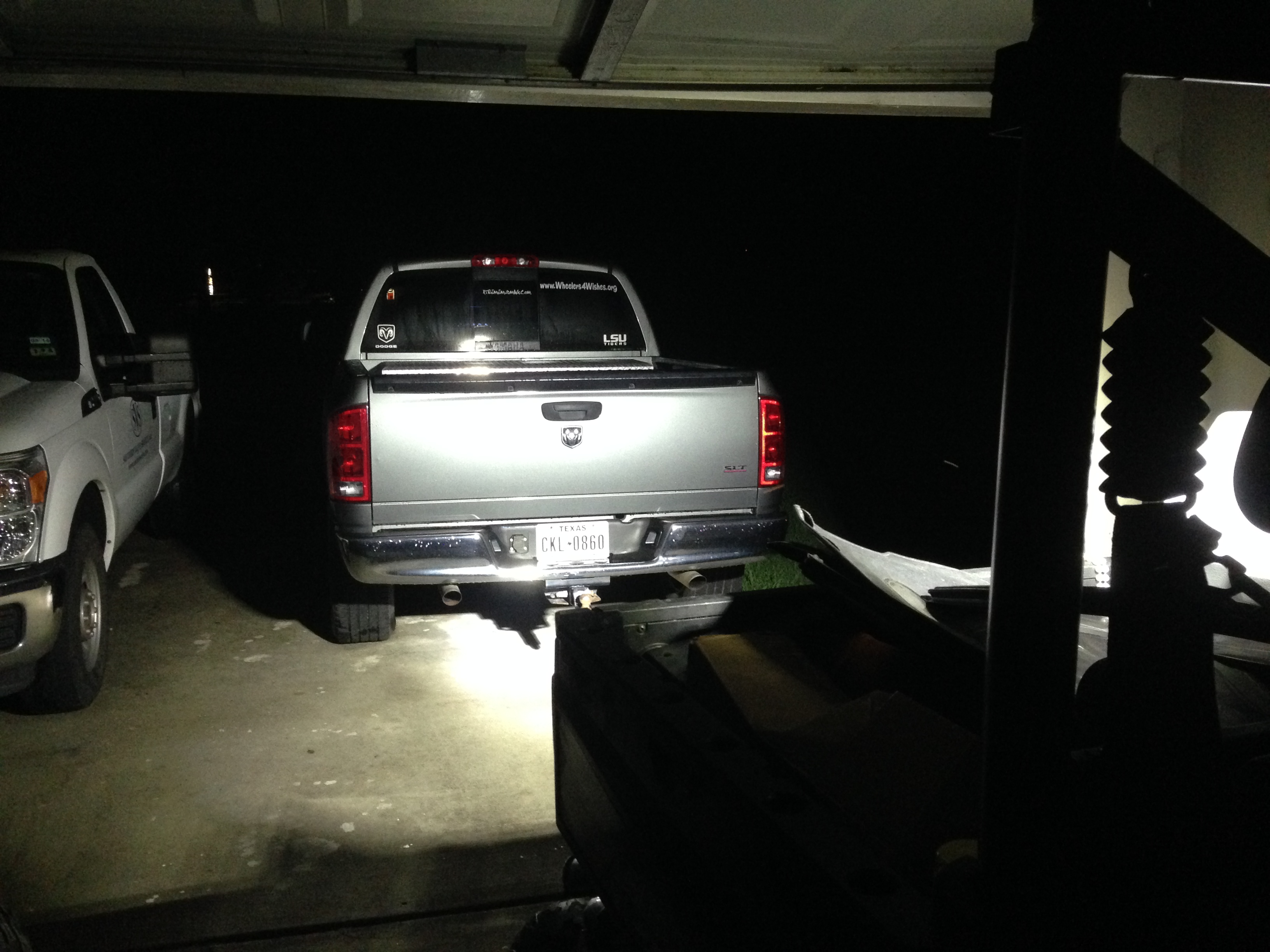 Rear facing led light bar attached images aloadofball Gallery