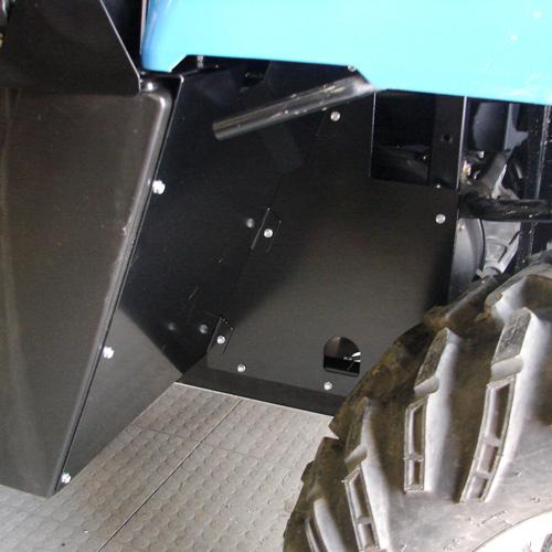 Thunder Bay Cab >> Rear Mud Guard Kit - vented design by Thunderhawk