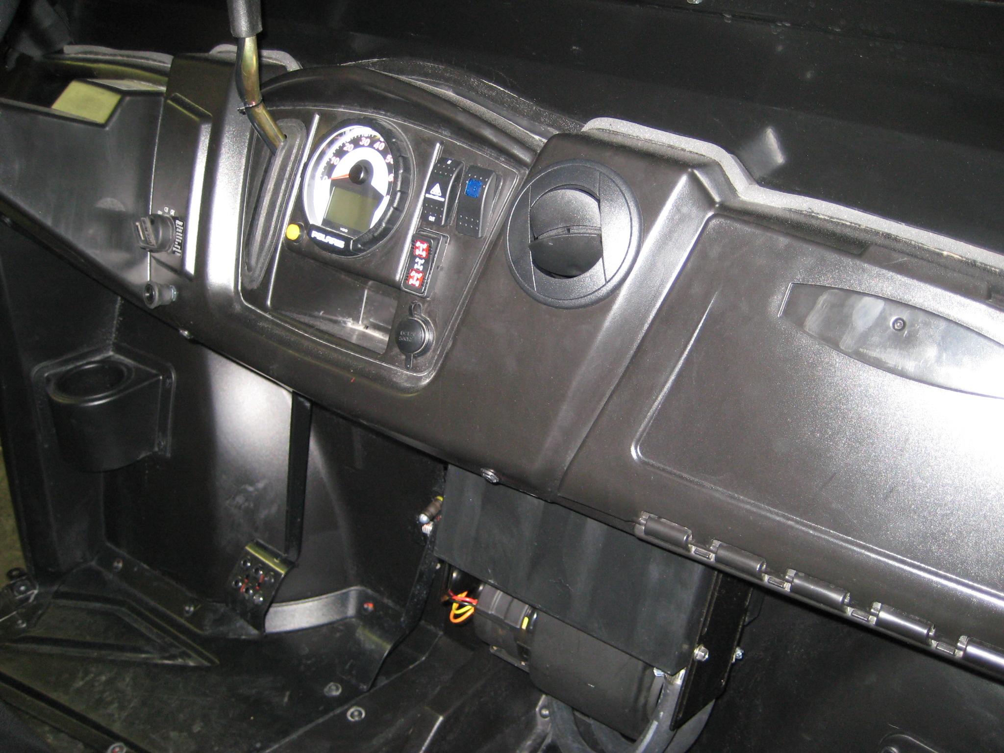 Midsize Heater Install