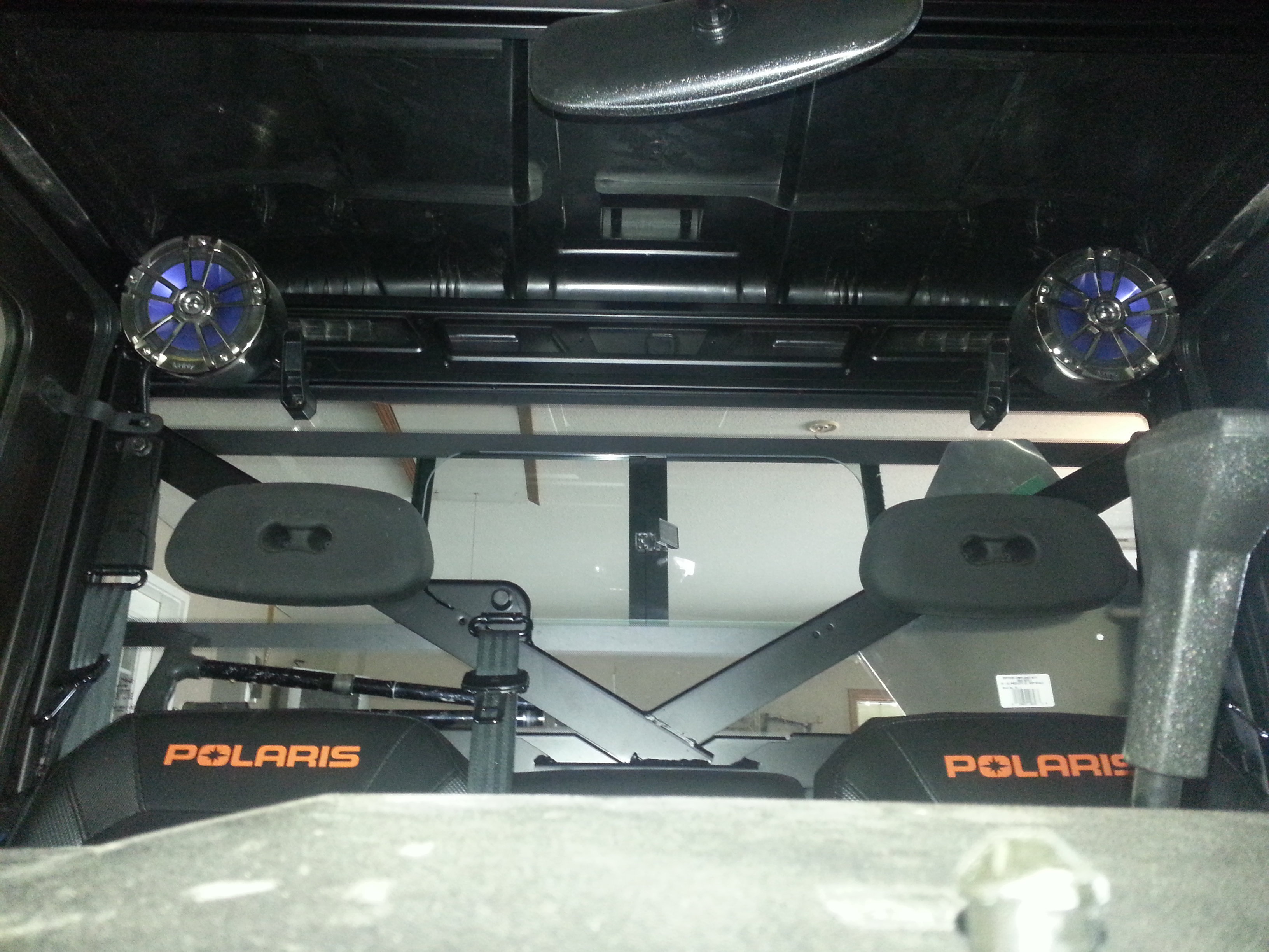 What Wires On Polaris Radio To Add 2 More Speakers
