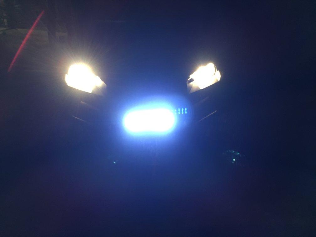 funky under dashboard lights
