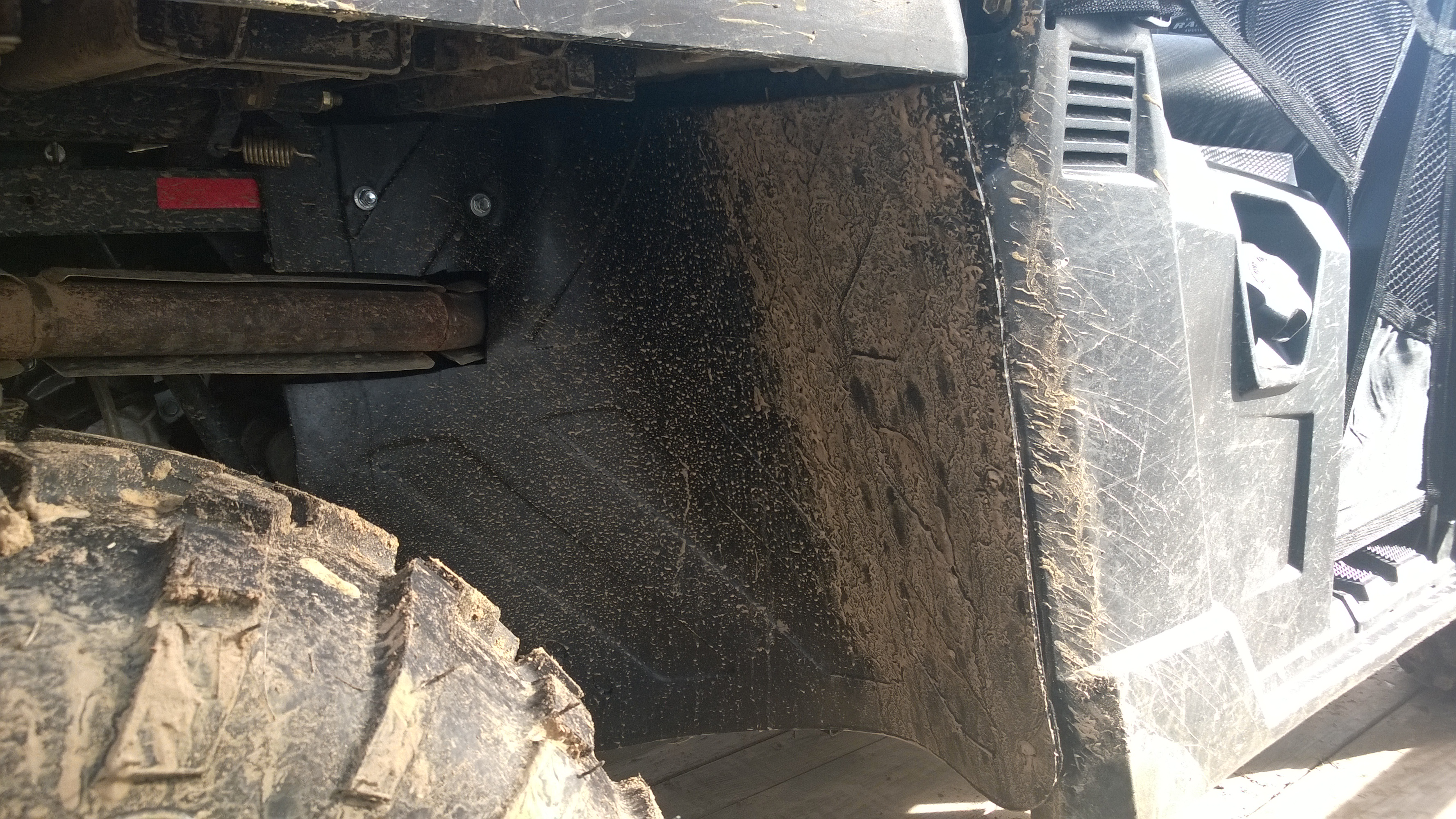 2016 Ranger 570 Midsize Mud Guards