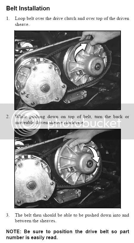 Drive belt change out | PRC Polaris Ranger Club